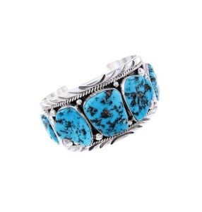 About the Turquoise Silver Bracelet