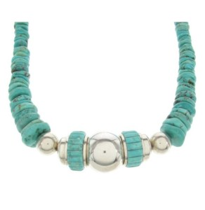 About the Turquoise Silver Necklace
